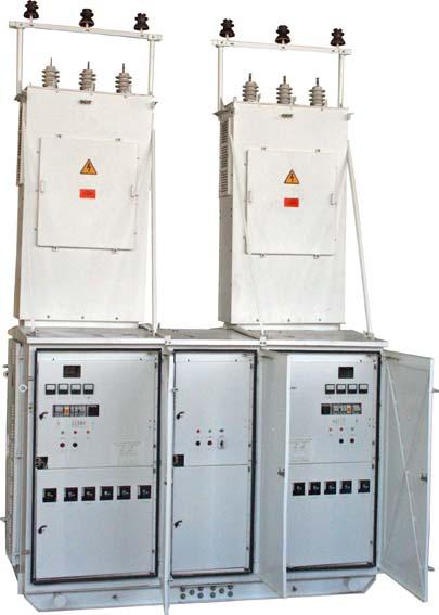 2КТПТАС и 2КТППАС мощностью 63…630 кВА с автоматическим вводом резерва