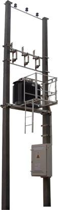 Pole-mounted TS of МТП type