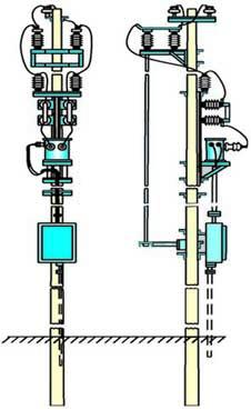 МТПЖ мощностью 10 кВА, напряжением 27,5 кВ